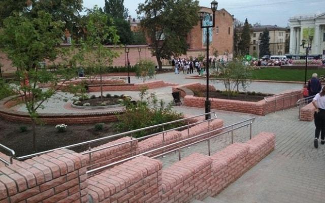 В Запорожье открыли еще одну зону отдыха