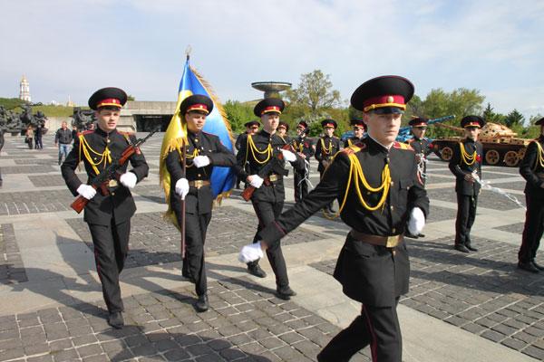 Лицеисты в Запорожье дали присягу на верность Украине