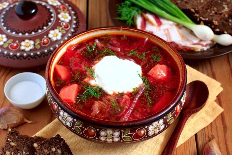 Особенности национальной кухни Украины